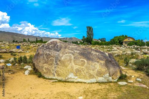 Photo Cholpon Ata Petroglyphs 01