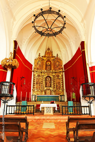 Fotografie, Obraz  Inside the church of Santiago in Carmona, province of Seville, Spain