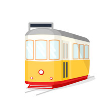 Famous Vintage Yellow 28 Tram ...