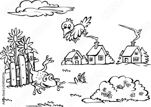 Zabawne zwierzęta Canvas Print