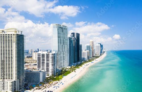 Naklejka premium Plaża Miami
