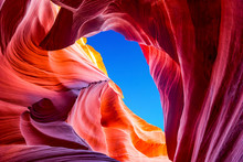 Antelope Canyon In The Navajo ...