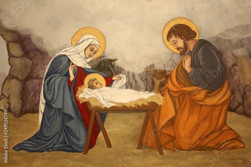 La Nativité Fototapet