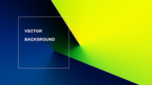 Abstract Colorful Light And Shade Texture With Angle Gradient Effect. Aspect Ratio 16:9. EPS 10 Vector.