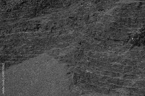 Dark Gray Limestone Texture