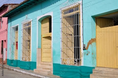 Photo  Stadtansicht, Straßenszene, Trinidad, Kuba