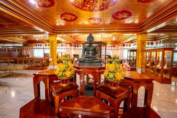 Fototapeta na wymiar Wat Paknam Bhasicharoen Temple in Bangkok, Thailand
