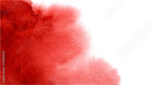 Plakaty czerwone  abstract-watercolor-red-background-for-your-design