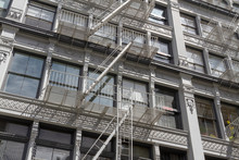Exterior Fire Escape Stairs On...