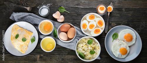 Fototapeta Different Ways to Cook Eggs obraz