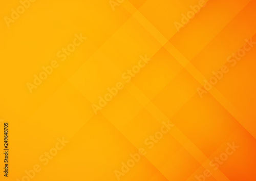 Obraz Abstract orange geometric vector background, can be used for cover design, poster, advertising - fototapety do salonu