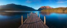 Romantic Wharf On Lake Rotoiti...