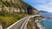 Travelling On The Sea Cliff Br...