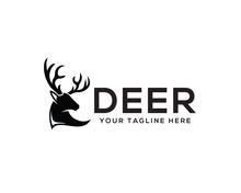 Head Deer Logo Design Inspiration