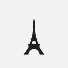 Eiffel Tower Vector Illustration