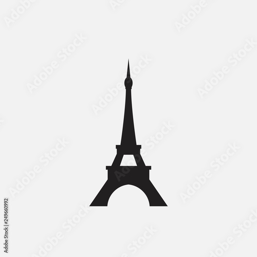 Eiffel tower vector illustration Fotomurales