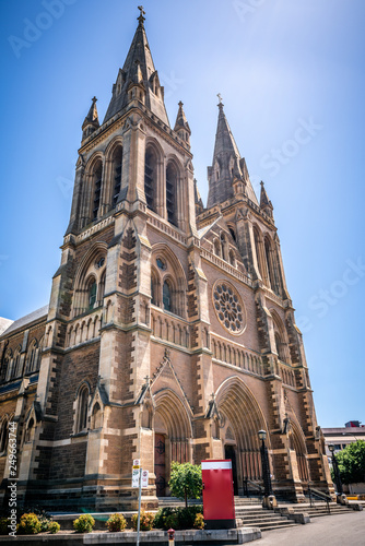 Photo Front vertical view of St