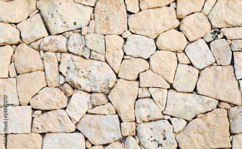 Fotografie, Obraz  Texture di rocce a seco