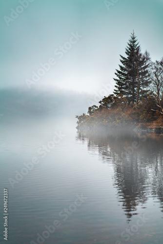 Fototapeta Jezioro nebelinsel