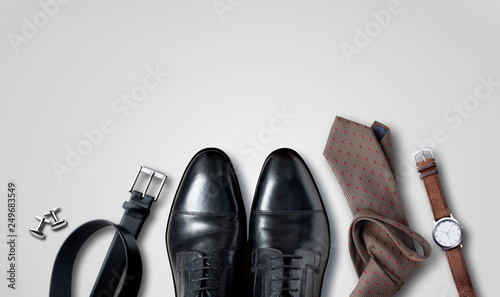 Fotografia, Obraz  Men accessoires, Still life, Business look