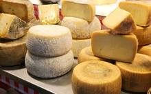Parmesan And Caciotta Cheese And Other Aged Cheeses For Sale
