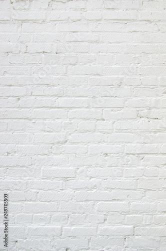 white brick wall texture Wallpaper Mural