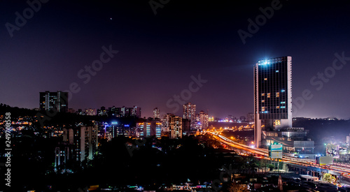 Mumbai- The city that never sleeps Fototapet