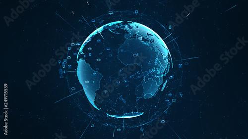 Fotografia  Technology iot concept.