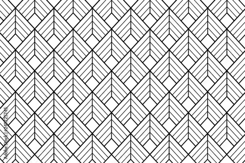 Art deco pattern background - Illustration