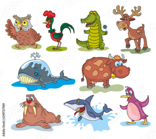 Acrylic Prints Dinosaurs animals
