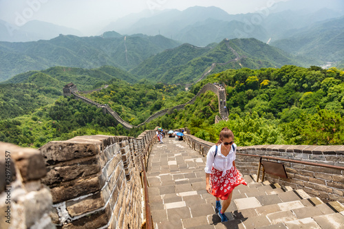 Fotografia  China travel at Great Wall