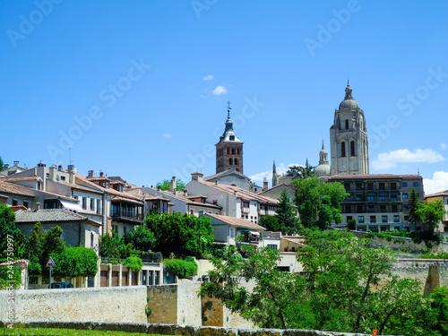 Keuken foto achterwand Buenos Aires Segovia panoramic view, Spain.