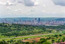Panorama Of The City Of Pretoria South Africa.