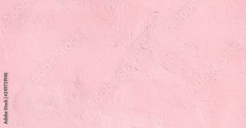 Abstract light pink plaster Wall Background - fototapety na wymiar
