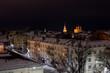 Night Ryazan in the lights
