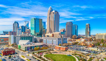 Downtown Charlotte, North Carolina, USA Skyline