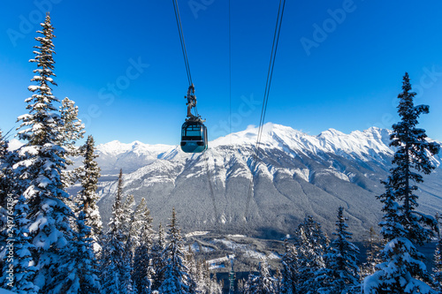 The Banff Sightseeing Gondola is located just 5 minutes from the Town of Banff, Tapéta, Fotótapéta