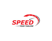 Speed Logo Faster Template Vec...