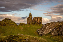 Castle Tarbert In The Middle O...