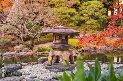 Tokyo Metropolitan Park KyuFurukawa's japanese garden's