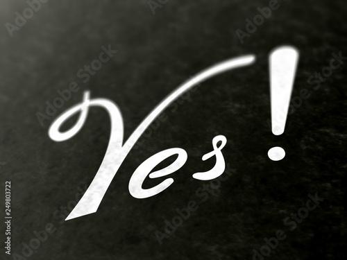 Fotografía  Yes!