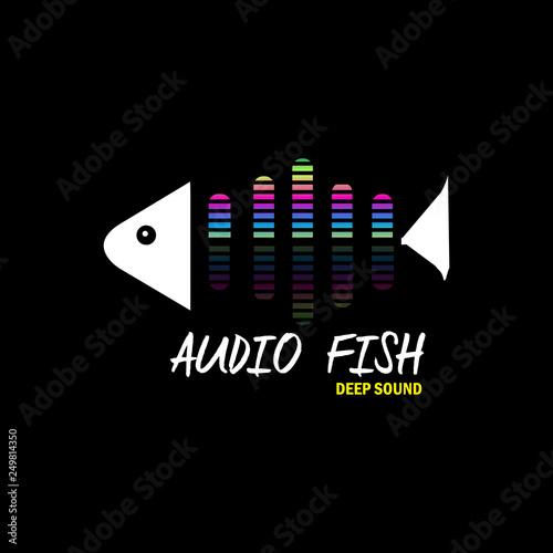 Photo  Audio fish for music