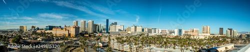 Fotobehang Las Vegas Las Vegas skyline from a distance during day time