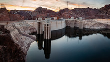 Hoover Dam Lake Mead Panorama