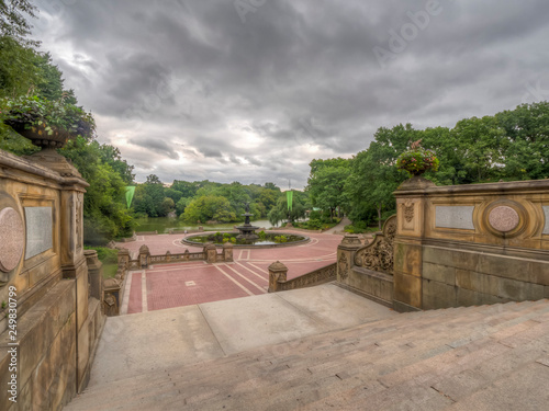 Bethesda Terrace Central Park - Buy this stock photo and