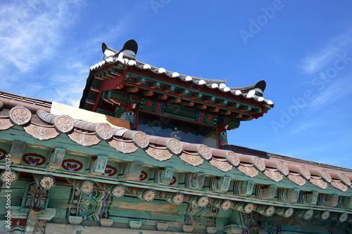 Fotografie, Obraz  Gwangdeoksa Buddhist Temple