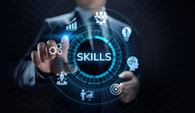 Skills Education Learning Personal Development Competency Business Concept.