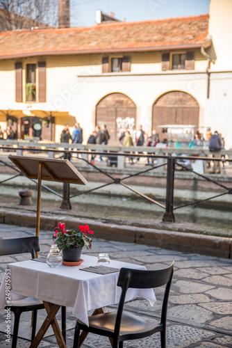 Canvas Prints Morocco ristorante sulnaviglio a Milano