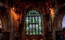 Medieval Holy Trinity Church In Skipton,North Yorkshire.