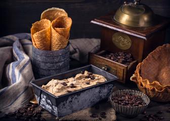 Lody kawowe